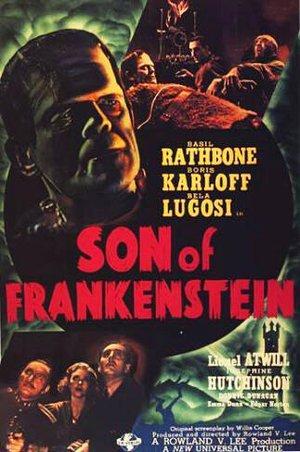 Frankensteins son poster