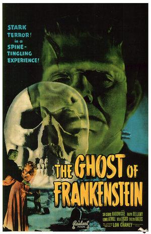 Frankensteins vålnad poster