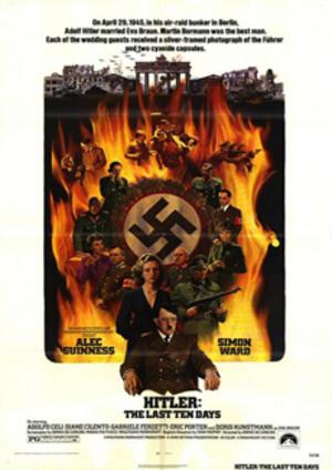Hitlers sista dagar poster