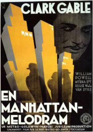 En Manhattan-melodram poster