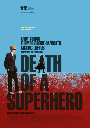 Death of a Superhero poster