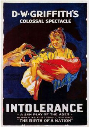 Intolerance poster