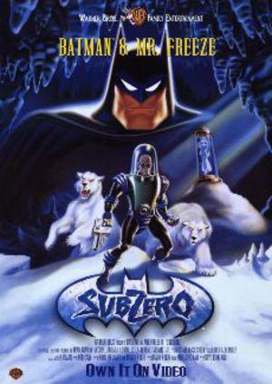 Batman & Mr. Freeze i minusgrader poster