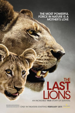 The Last Lions poster