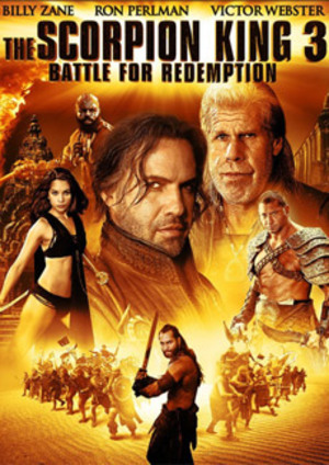 The Scorpion King 3: Battle for Redemption poster