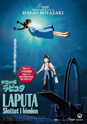 Laputa - Slottet i himlen poster