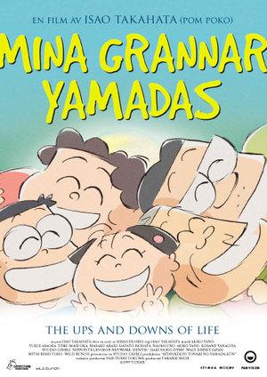 Mina grannar Yamadas poster
