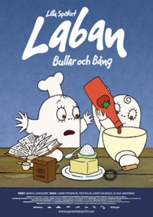 Lilla spöket Laban - Bullar och bång poster