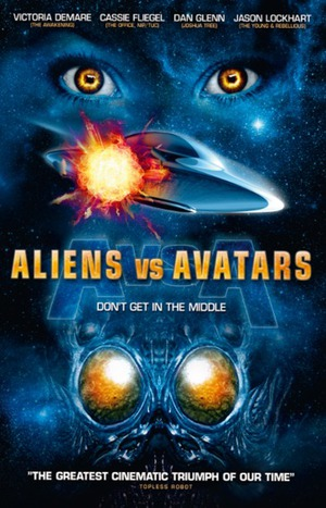 Aliens vs Avatars poster