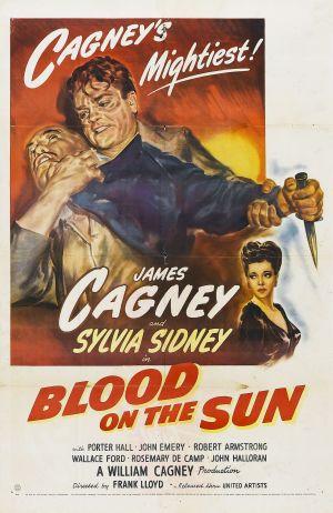 Den blodbestänkta solen poster