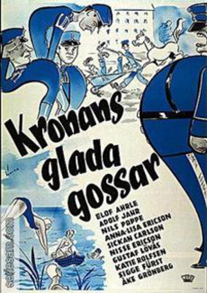 Kronans glada gossar poster