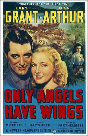 Endast änglar har vingar poster