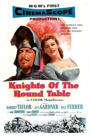 Riddarna av runda bordet poster