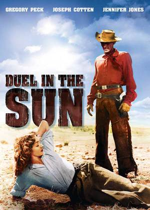 Duell i solen poster