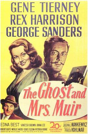 Spöket och Mrs. Muir poster