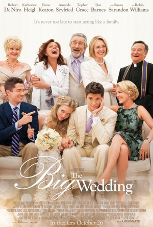 The Big Wedding poster