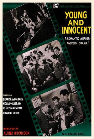 Ung och oskyldig poster