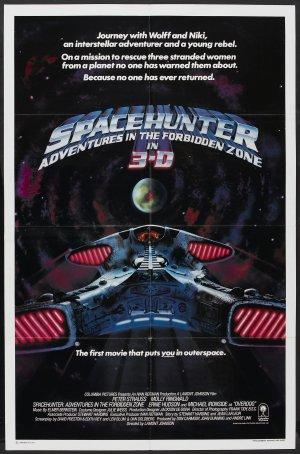 Spacehunter - uppdrag i den förbjudna zonen poster