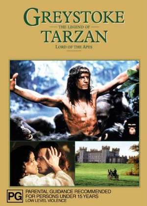 Greystoke: Legenden om Tarzan, apornas konung poster