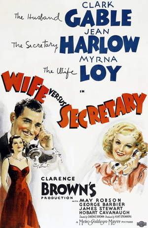 Hans fru och hans sekreterare poster