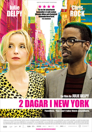 2 dagar i New York poster
