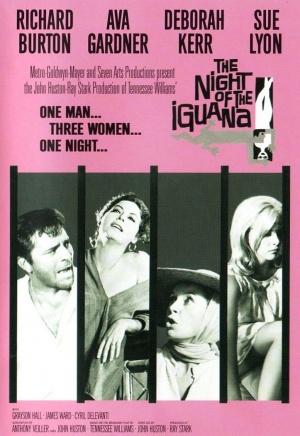 Iguanans natt poster
