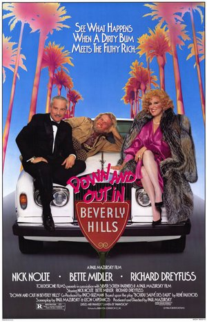 På luffen i Beverly Hills poster