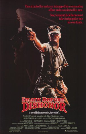 Death Before Dishonor poster