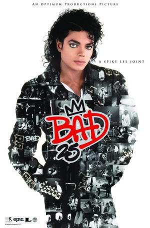 Bad 25 poster