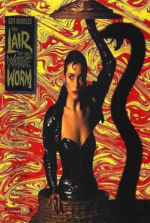 Legenden om den vita ormen poster