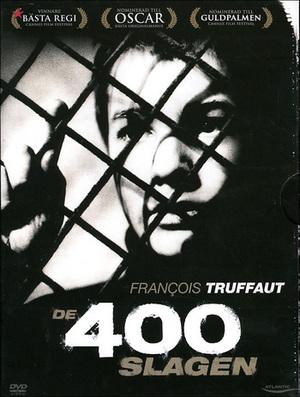 De 400 slagen poster
