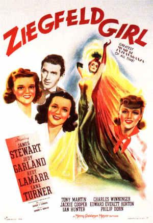 Ziegfeldflickan poster