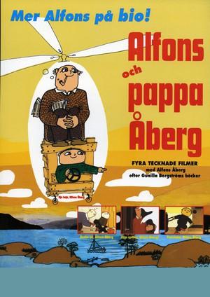 Alfons och pappa Åberg poster