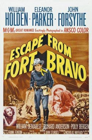Fort Bravo poster