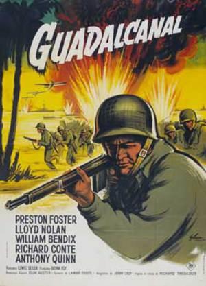 Rapport från Guadalcanal poster