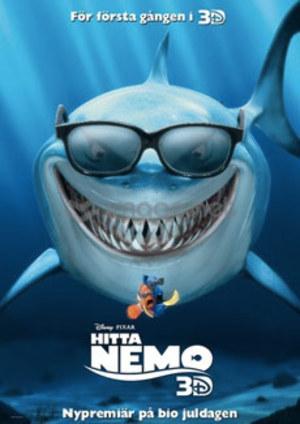 Hitta Nemo poster