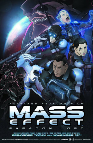 Mass Effect: Paragon Lost poster