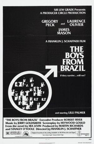 Pojkarna från Brasilien poster