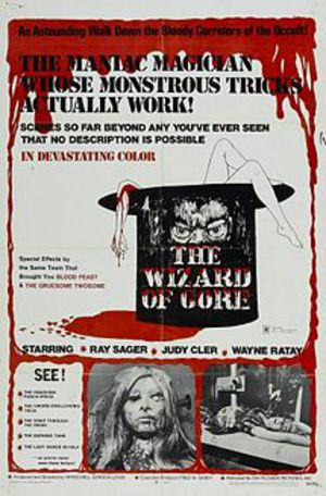 The Wizard of Gore poster