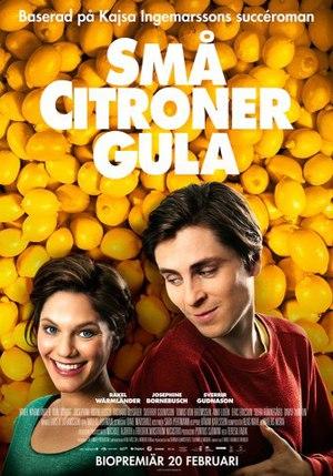 Små citroner gula poster