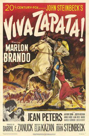 Viva, Zapata! poster