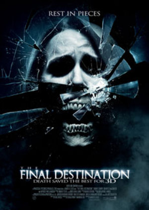 The Final Destination - 3D poster