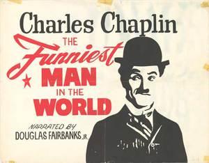 Chaplin - världens roligaste man poster