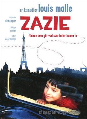 Zazie, flickan som gör vad som faller henne in poster
