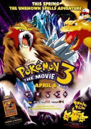 Pokémon 3 poster