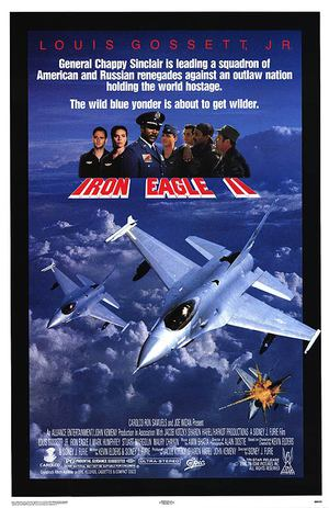 Iron Eagle II - Stridsflygarna poster