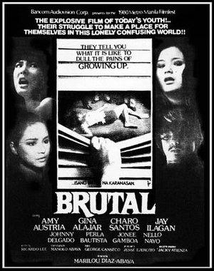 Brutalitet poster
