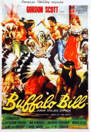 Buffalo Bill - Västerns hjälte poster