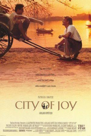 Glädjens stad poster