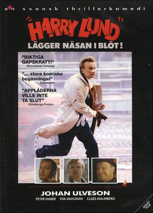 """""""Harry Lund"""" lägger näsan i blöt! poster"""